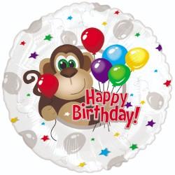"""18"""" Monkey Around Birthday Balloon"""