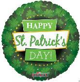 "18"" Happy St. Patrick's Day Balloon!"