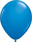 Blue Helium Filled Balloon