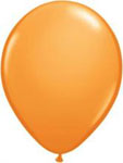 Orange Helium Filled Balloon