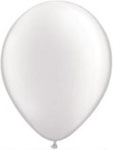 White Helium Filled Balloon