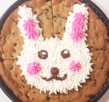 Bunny Cookie Cake