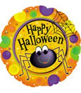 "18"" Happy Halloween Spider"