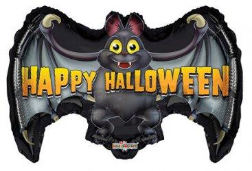 "Jumbo 24"" Happy Halloween Bat"
