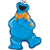 "Mylar - 31"" Sesame Street Cookie Monster"