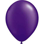 Purple Helium Filled Balloon