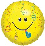 "Mylar - 18"" Smiley"
