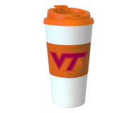 Virginia Tech Sleeve Travel Tumbler
