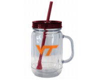 Virginia Tech 20oz Mason Tumbler